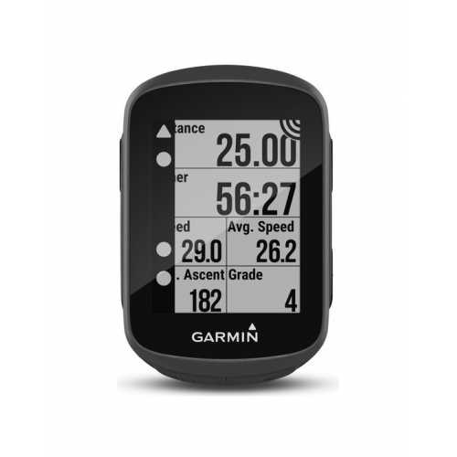 велокомпьютер Garmin Edge 130, GPS, Europe, HR Bundle