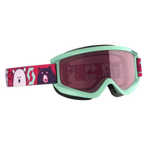 горнолыжная маска SCOTT JR AGENT mint green/pink enhancer