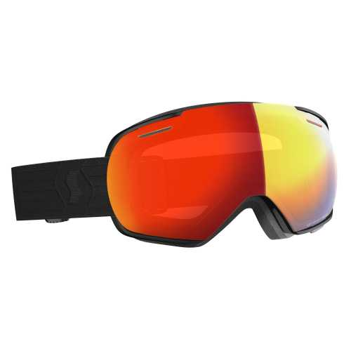 горнолыжная маска SCOTT LINX LS black light sensitive red chrome