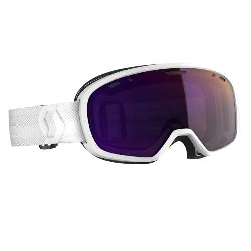 маска гірськолижна SCOTT MUSE PRO white enhancer purple chrome