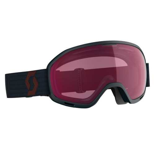 горнолыжная маска SCOTT UNLIMITED II OTG merlot red/blue nights enhancer