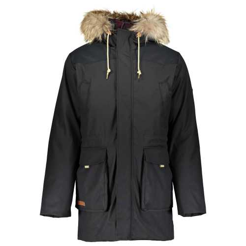 куртка PARKA PH TETON WIND RIVER чорна
