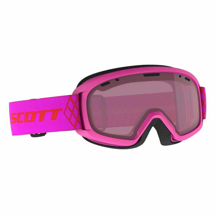 маска гірськолижна SCOTT JR WITTY high viz pink enhancer