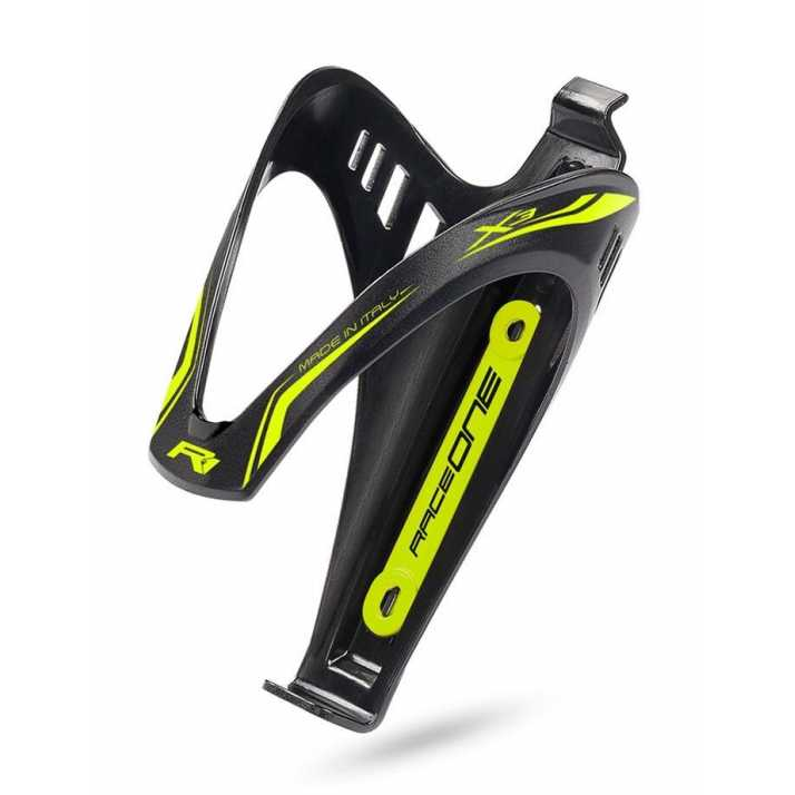 підфляжник RaceOne Cage X3 Matt AFT Black/Yellow Fluo